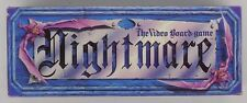 NIGHTMARE Video Board Game - Chieftain Board Game - Complete