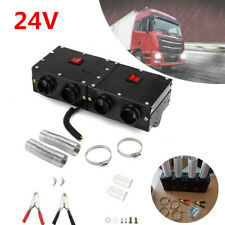 24V 4 Air Outlet Iron Compact Truck Car SUV RV Heater Heating Defroster Demister