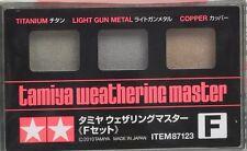 Tamiya 87123 Weathering Master F Set