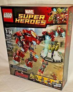 SEALED 76031 LEGO Avengers HULK BUSTER Smash Iron Man MK43 248pc set RETIRED NEW