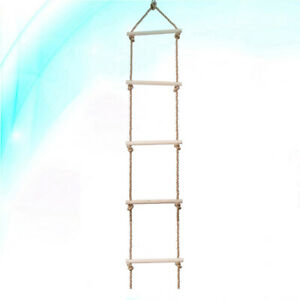 1pc Wooden Ladder Durable Creative Funny Outside Sports Supplies for Kids