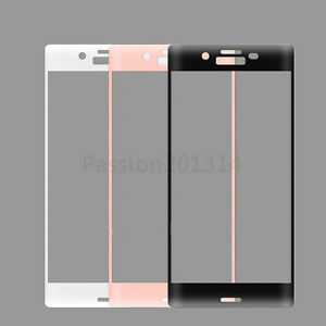 3D Edge Full Curved Coverage Tempered Glass Screen Protector Film For SONY XP