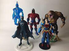 dc direct lot Superboy prime, Shark, manhunter, blackhand, omac