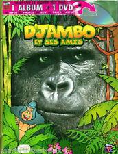 Livre pour garçons singes gorilles enfants BD + DVD idees CADEAUX de  noel NEUF