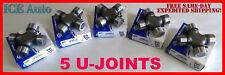 COMPLETE U-JOINT KIT JEEP TJ XJ 4X4 FRONT & REAR DRIVESHAFT SPICER 1310 SERIES