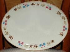 Retro Franciscan USA Gladding McBean LARKSPUR Large Oval Serving Plate Platter