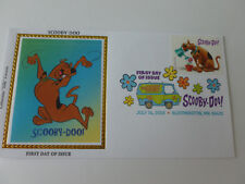 Scooby-Doo Fdc Sc#5299 DCP CANCEL Colorano Silk Cachet (2018 Issue) [Type #1]