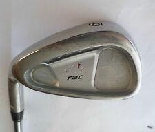Left Handed TAYLORMADE RAC OS 6 IRON R Flex Steel Shaft Golf Pride Grip