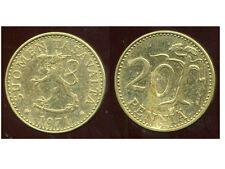 FINLANDE 20 pennia 1971