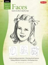 FACES/ Learn To Draw Step By Step (How to Draw & Paint) (Vol 1)