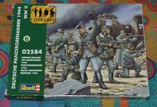 DEUTSCHE PANZERGRENADIERE 1944 WW II 02584 REVELL 1/72 FIGUREN