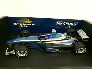 MINICHAMPS 1/18 1999 BAR 001 SUPERTEC TESTCAR JACQUES VILLENEUVE 180990120