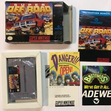 Super Nintento Entertainment System SUPER OFF ROAD SNES USA