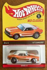 2017 Hot Wheels Red Line Club RLC Series 14 Neo Classics '67 Camaro #2913/7500
