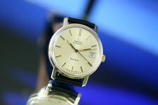 Men's 14K Solid Gold Omega Geneve Date Automatic Watch from 1973 - nice cond.