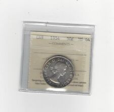 **1954**, ICCS Graded Canadian, 50 Cent, **MS-64**