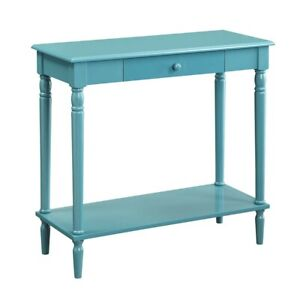 Convenience Concepts French Country Hall Table, Blue - 6053188BE