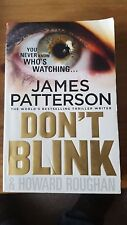 don't blink by james patterson paperback
