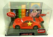 Disney Store CARS 2 LONG GE Chase Edition Diecast Collector Case Replica Rare
