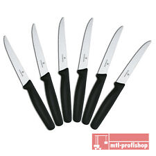 Victorinox Haushaltsmesser Steakmesser Brötchenmesser 6 x schwarz 5.1233