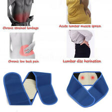 Magnetic Lower Back Support Self-Heating Belt Brace Pain Relief Posture Waist