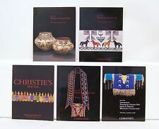 Lot Collection 5 Christie's American Indian Art Auction Catalogs 87