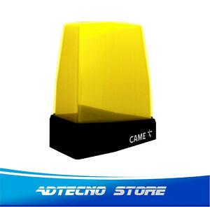 CAME KRX1FXSY Lampeggiatore con antenna,a led da 24V AC/DC a 230 V AC Giallo