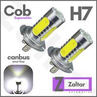 2 X H7 80w Super White Xenon Upgrade Headlight Led Bulbs Set 499 12v Full/dipped