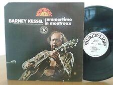 Barney Kessel,Summertime In Montreux,Black Lion Records,BL 210,Vinyl Jazz LP VG+