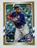 2021 Topps Series 1 Baseball SP Gold Parallel /2021 Nelson Cruz #219 Twins