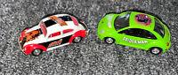 Johnny Lightning Daredevil VW Volkswagen Beetle & Spider-Man Bug 1/64 Die-Cast