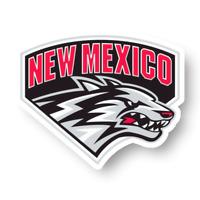New Mexico Lobos Wordmark Logo Emblem Decal Die Cut Vinyl Sticker Window Truck