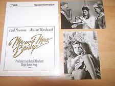 MR. AND MRS. BRIDGE - Presseheft ´90 + 2 PF - PAUL NEWMAN Joanne Woodward