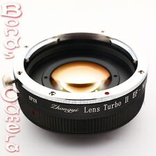 Zhongyi Focal Reducer Booster Turbo II Canon EOS EF Lens to Sony E Adapter NEX-7