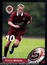 Rastislav Michalik Autogrammkarte AC Sparta Prag 2004-05  + A 213150 OU