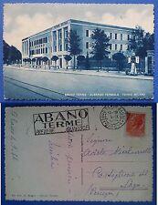 Abano Terme - Albergo Termale - Terme Milano, viaggiata 1954