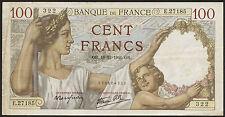 Frankreich / France 100 Francs 1941 Pick 94 (3)