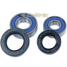 Front Wheel Ball Bearing and Seal Kit Fits SUZUKI LT-Z400 QuadSport Z400 2003-09