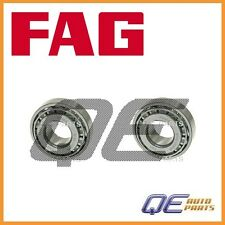 2 Rear Outer Wheel Bearing Fag 443505509 For: Audi Coupe 80 90 100 200 A6 A4