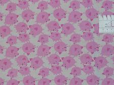 Sale  => 60cmx110cm: Schwein Glücksschwein, Patchworkstoff Free Spirit