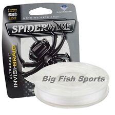 SPIDERWIRE ULTRACAST INVISI-BRAID Fishing Line 40LB-125YD #SCUC40IB-125 NEW!
