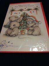 Tatty Teddy Sister & Husband Christmas Card BNIP Me To You