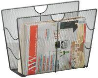 Zeller 17742 Portariviste Mesh 39 x 17,5 x 27, colore: Antracite