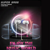 3.5mm Crystal Earphones In Ear Earbuds Sport Headphones Bass For iPhone 6/6s Lot