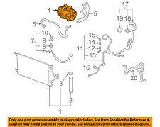 GM OEM-A/C AC Compressor 19129936 19257978 uplander vue