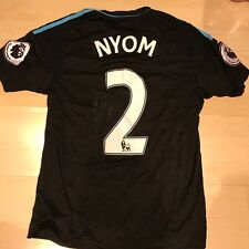 WEST BROMWICH ALBION MATCH WORN SIGNED SHIRT ALLAN NYOM 11/03/17