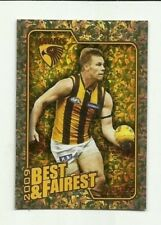 2010 AFL SELECT HAWTHORN SAM MITCHELL Herald Sun Best & Fairest BF8 CARD