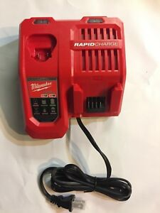 Milwaukee Genuine 48-59-1808 M18 M12 volt Lithium Rapid Charger BRAND NEW