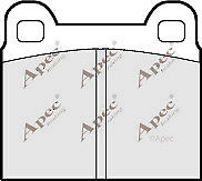 1x OE Quality Brand New Apec Brake Pad Set - PAD121 - 12 Month Warranty!