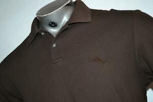 22595-a Mens Tommy Bahama Golf Polo Shirt Brown Size Medium Polyester Blend